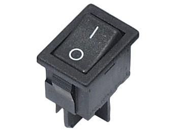 AE H8550VB - čierny 10A spínač