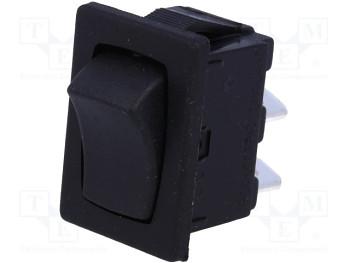 AE H8602VB - čierny 6A spínač