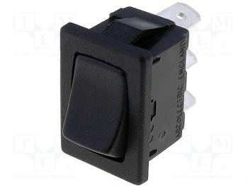 AE H8610VB - čierny 10A spínač