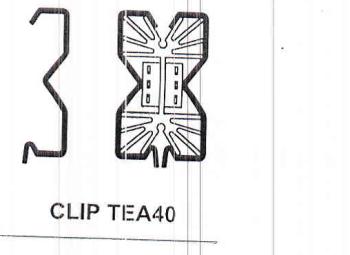 CLIP TEA40