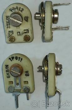 TP 011 100R/N - trimer 0,75 W