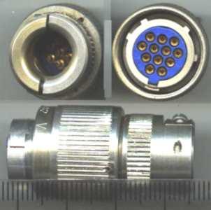 WK 18080 - 12pol. zásuvka